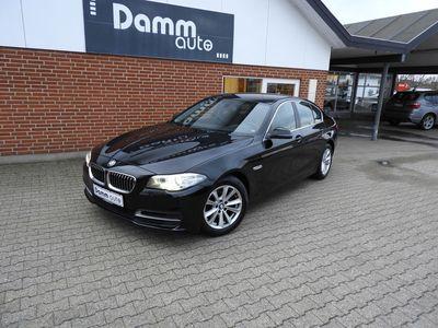 brugt BMW 520 2,0 d Steptronic 184HK Sedan aut