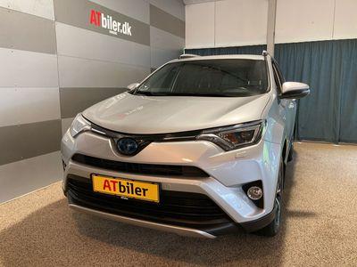 brugt Toyota RAV4 2,5 Hybrid H3+ Safety Sense 4x2 197HK Van 6g Aut. A+