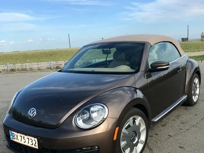 brugt VW Beetle Cabrio 1,8T