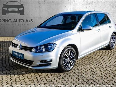 brugt VW Golf 1,4 TSI BMT Allstar 125HK 5d 6g - Personbil - sølvmetal