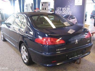 brugt Peugeot 607 2,2 160HK