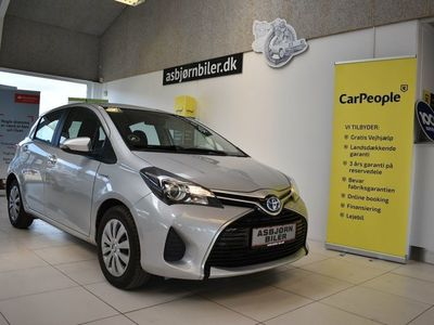 brugt Toyota Yaris Hybrid 1,5 Hybrid Touch CVT