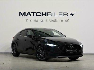 brugt Mazda 3 2,0 Skyactiv-X Mild hybrid Cosmo 180HK 5d 6g Aut.
