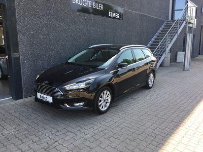 brugt Ford Focus 1,5 EcoBoost Titanium 150HK 5d 6g B