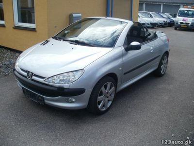 używany Peugeot 206 CC 1,6 16V