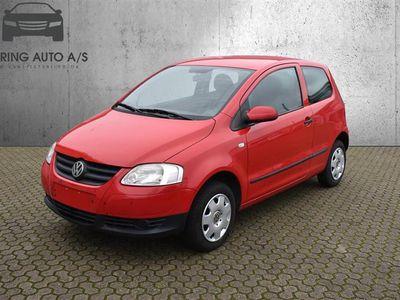 brugt VW Fox 1,2 55HK 3d - Personbil - rød