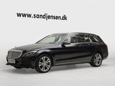 brugt Mercedes C250 2,2 BlueTEC stc. aut. 4-M Van