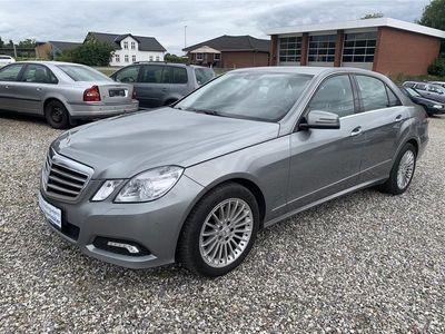 brugt Mercedes E350 3,0 CDI BlueEfficiency 4-Matic 231HK 7g Aut.