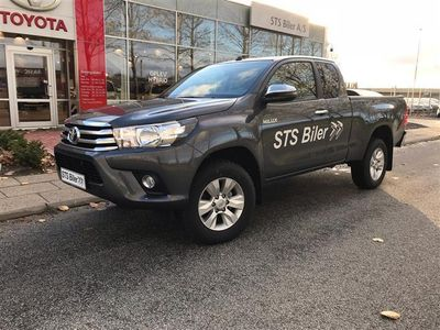 brugt Toyota HiLux Extra Cab 2,4 D-4D T3 4x4 150HK Pick-Up