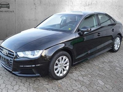 brugt Audi A3 1,6 TDI Ultra Attraction 110HK 6g - Personbil - Sort