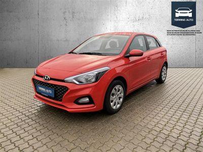 brugt Hyundai i20 1,25 Trend 84HK 5d - Personbil - Rød