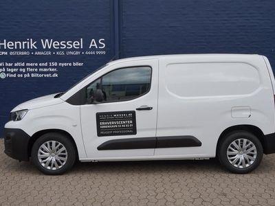brugt Peugeot Partner L1 V1 1,5 BlueHDi Plus Pro 100HK Van A