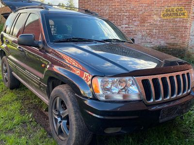 brugt Jeep Grand Cherokee 4,7 V8 Limited
