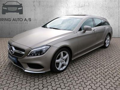 begagnad Mercedes CLS350 Shooting Brake 3,0 D 9G-Tronic 258HK Stc 9g Aut. - Personbil - MANGANITE GRAY MAGNO