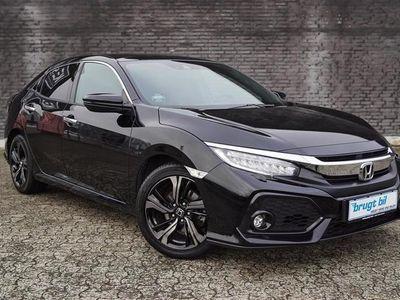 brugt Honda Civic 1,5 VTEC Turbo Sport Navi 182HK 5d 6g Aut.