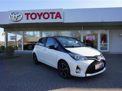 brugt Toyota Yaris Hybrid 1,5 B/EL Style Safety Sense E-CVT 100HK 5d Trinl. Gear