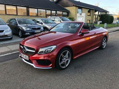 brugt Mercedes C400 3,0 AMG Cabriolet aut. 4-M