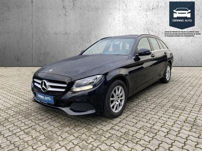 brugt Mercedes C200 d T 1,6 Bluetec 136HK Stc 6g - Personbil - Sortmetal