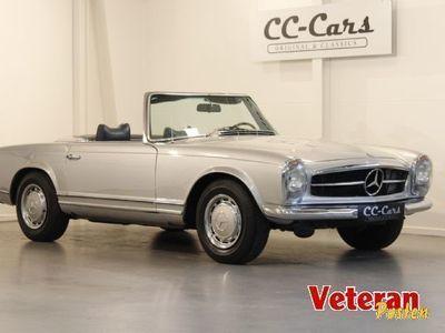 brugt Mercedes 280 SL 2,8 Cabriolet Pagode