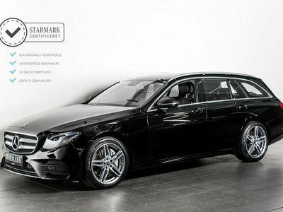 brugt Mercedes E350 2,9 AMG Line stc. aut.