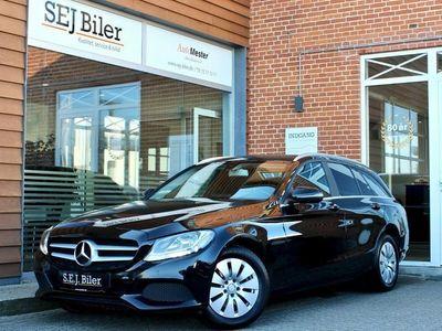 gebraucht Mercedes C200 d 1,6 Business stc. 136HK 5d