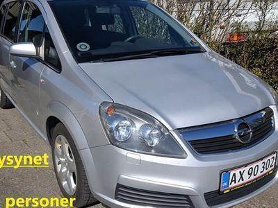 brugt Opel Zafira Limited 1,8