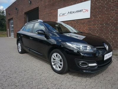 brugt Renault Mégane III 1,5 dCi 110 Limited Edition ST EDC