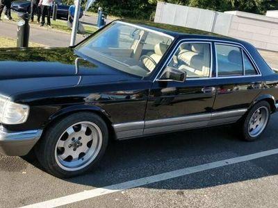 brugt Mercedes 380 SE 3,8 aut.