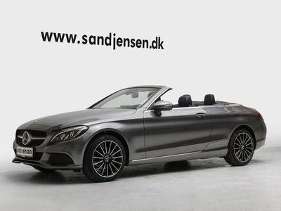 brugt Mercedes C200 2,0 Cabriolet aut.