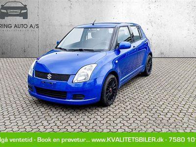 brugt Suzuki Swift 1,5 102HK 5d - Personbil - blå