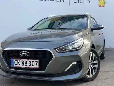 brugt Hyundai i30 Cw 1,4 T-GDI Trend DCT 140HK Stc 7g Aut.