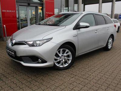 brugt Toyota Auris Touring Sports 1,8 Hybrid H2 Comfort 136HK Stc