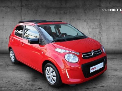 brugt Citroën C1 1,0 VTi Feel Airscape Edition start/stop 68HK 5d