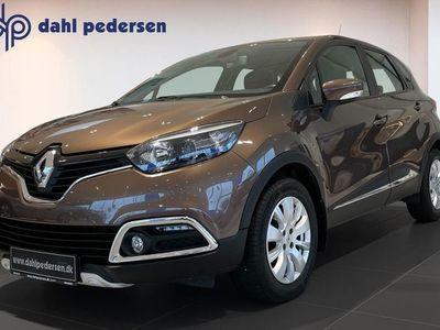 brugt Renault Captur 0,9 TCE Expression Navi Style 90HK 5d