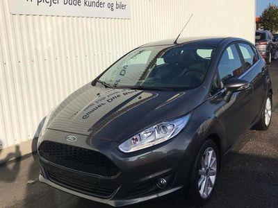 brugt Ford Fiesta 1,0 EcoBoost Titanium Start/Stop 140HK 5d