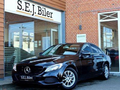 brugt Mercedes C220 d 2,1 170HK aut 4d