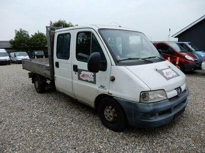 brugt Peugeot Boxer 330L 2,8 Chassis Db.Cab