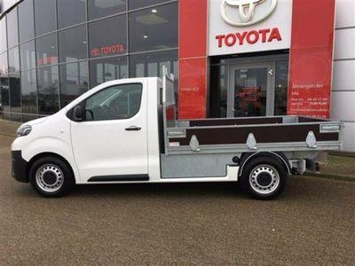 brugt Toyota Proace Long 2,0 D Platform Cab 120HK Ladv./Chas. 6g