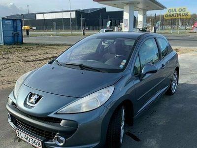 brugt Peugeot 207 Nysynet Peugeot 207 1.6 109hk s16