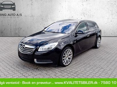 brugt Opel Insignia Sports Tourer 2,0 CDTI Cosmo 130HK Stc 6g - Personbil - sort