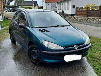 brugt Peugeot 206 1.4, 5 døre