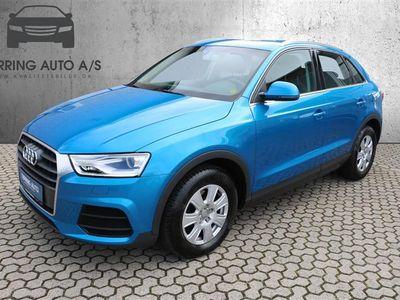 brugt Audi Q3 2,0 TDI 150HK 5d 6g - Personbil - blåmetal