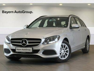 gebraucht Mercedes C200 1,6 BlueTEC stc. aut.