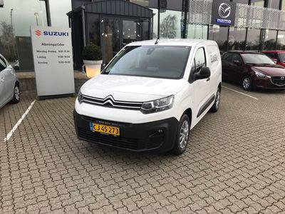 brugt Citroën Berlingo L1 1,2 PureTech Proffline start/stop 110HK Van 6g A+