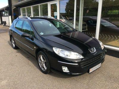brugt Peugeot 407 1,6 HDi 109 Premium SW