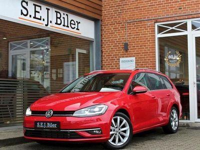 brugt VW Golf Variant 2,0 TDI BMT Highline DSG 150HK Stc 7g Aut. A+