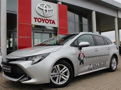 brugt Toyota Corolla Touring Sports 1,8 B/EL H3 Smartpakke E-CVT 122HK Stc Trinl. Gear
