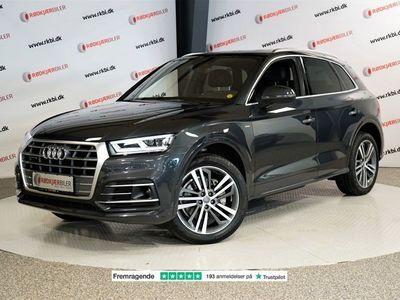 brugt Audi Q5 2,0 TDi 190 S-line quattro S-tr.