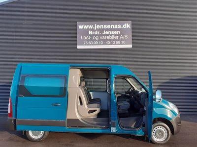 brugt Renault Master T35 L3H1 Mandskabsbil DobKab 2,3 DCI 125HK Van 2015