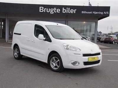 brugt Peugeot Partner L1 Flexpack 1,6 e-HDi Cool 'N' Tool 90HK Van